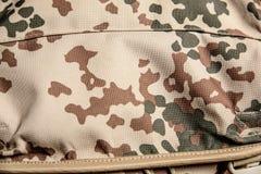 Воинский конец-вверх предпосылки камуфлирования текстуры Стоковое фото RF