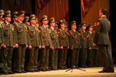 Воинский клирос русской армии Стоковое Изображение RF