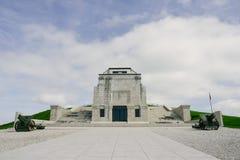 Воинский мемориальный памятник в граппе Monte Стоковое Фото