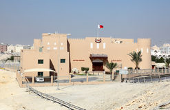 Воинский музей в Riffa, Бахрейне Стоковая Фотография RF