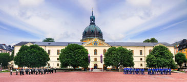 Воинский музей Стокгольм, Швеции Стоковая Фотография RF