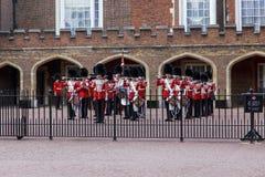 Воинский оркестр королевского предохранителя, Лондон Стоковое Изображение