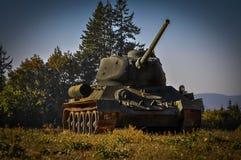 Воинский танк Стоковая Фотография