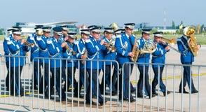 Воинский духовой оркестр Стоковое Фото