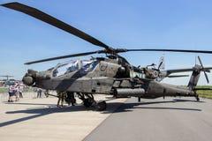 Воинский штурмовой вертолет апаша стоковые изображения