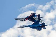 2 воинских бойца Стоковая Фотография RF