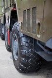 воинское колесо тележки Стоковая Фотография