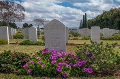 Воинское кладбище Стоковое Изображение