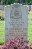 Воинское кладбище стоковое фото rf