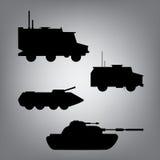 Воинское оборудование воиска транспортируют Стоковые Фотографии RF