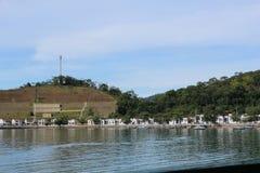 Воинское полегание в dos Reis Angra, Бразилии Стоковые Изображения RF