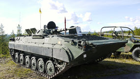Воинское vechhicle Стоковые Фото