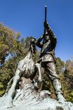 воинское vicksburg национального парка стоковая фотография