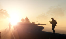Воинско. стоковые изображения rf
