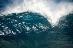 воинственно настроенный волна Стоковое фото RF