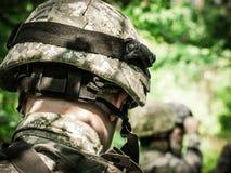 воины армии мы Стоковые Фотографии RF