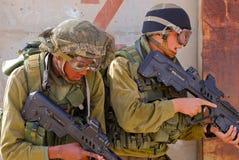 воины Израиля Стоковое фото RF