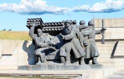 воины памятника к Стоковые Фотографии RF