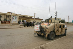 воины США Ирака армии Стоковая Фотография