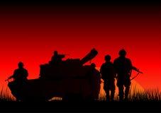 Воины Стоковые Изображения RF