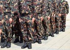 воины стоковое изображение rf