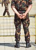 воины стоковое фото rf