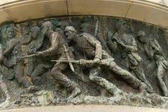 воины стоковое изображение