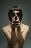 воин девушки Стоковая Фотография