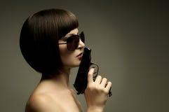 воин девушки Стоковая Фотография RF