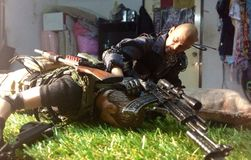 Воин игрушки Стоковое Изображение RF