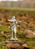 Воин олова Стоковое Фото