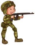 воин Стоковые Изображения RF