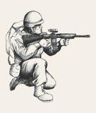 воин Стоковое Изображение RF