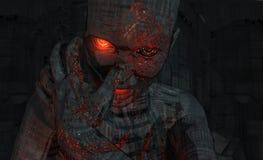воин cyborg Стоковая Фотография