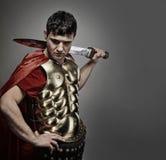 воин legionary римский Стоковые Изображения