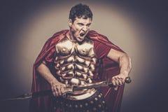 воин legionary римский Стоковая Фотография