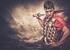 воин legionary римский Стоковое Изображение