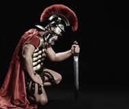 воин legionary Стоковые Фотографии RF