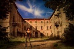 Воин Silvia стоковое изображение rf