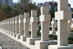 воиска кладбища Стоковое Фото