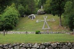 воиска кладбища Стоковое фото RF