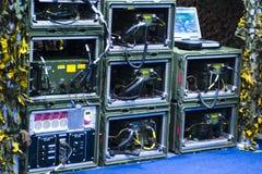 воиска радиотехнической аппаратуры стоковые изображения rf