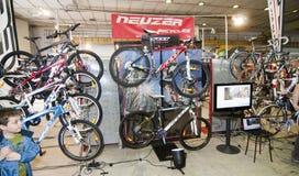 войлок велосипедов Стоковая Фотография