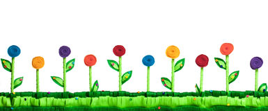 Войлок поля цветка Стоковые Изображения RF