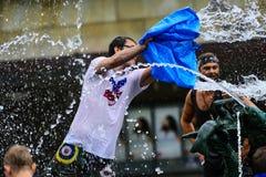 Война воды Стоковые Фото