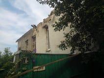 Война в Луганск Стоковые Изображения RF