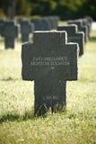 война Германии кладбища Стоковое фото RF