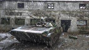 Война и жизнь Стоковое Изображение RF