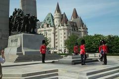 война Канады мемориальное национальное стоковые изображения rf