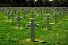 война кладбища Стоковые Изображения